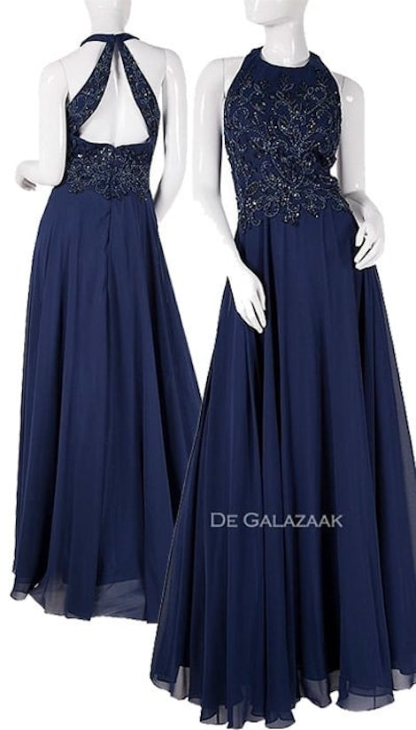 Galajurk in navy blauw 2375 - Magic Nights