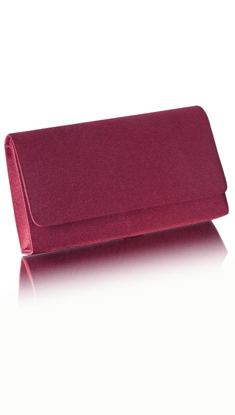 Clutch bordeaux rood 4750 - GLZK tasjes en clutches