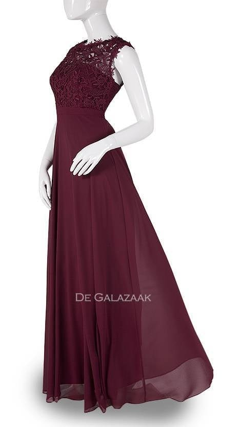 Galajurk in bordeaux-rood  3778 - Downtown Girl
