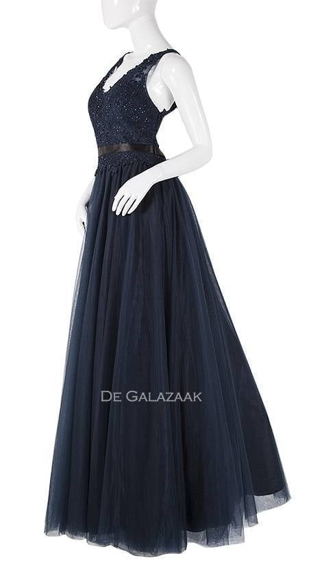 Galajurk in navy-blauw  3818 - Magic Nights