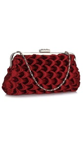 Clutch Bordeaux 4396