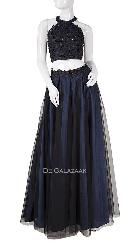 Galajurk in navy-blauw  3948 - Magic Nights