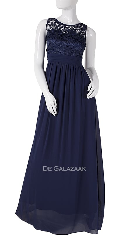 Galajurk in navy-blauw  3877 - Downtown Girl