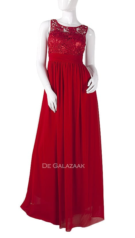 Galajurk in rood    3875 - Downtown Girl
